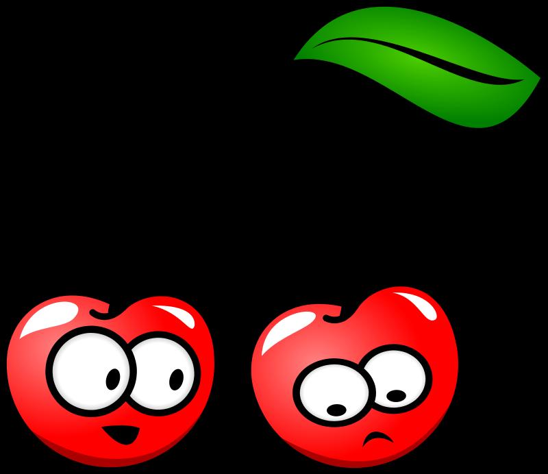 Fruits clipart cute. Strawberries lemons cherries fruit