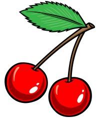 Cherries maraschino cherry