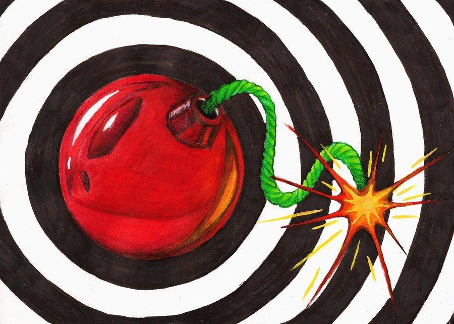 Cherry clipart pop art. Bomb by gothangelgirl on