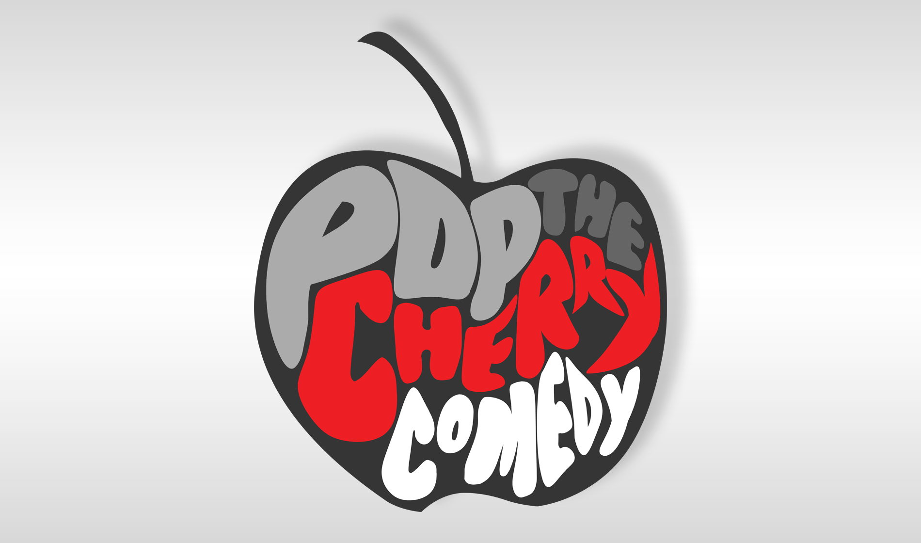 Cherry clipart pop art. The comedy logo duane