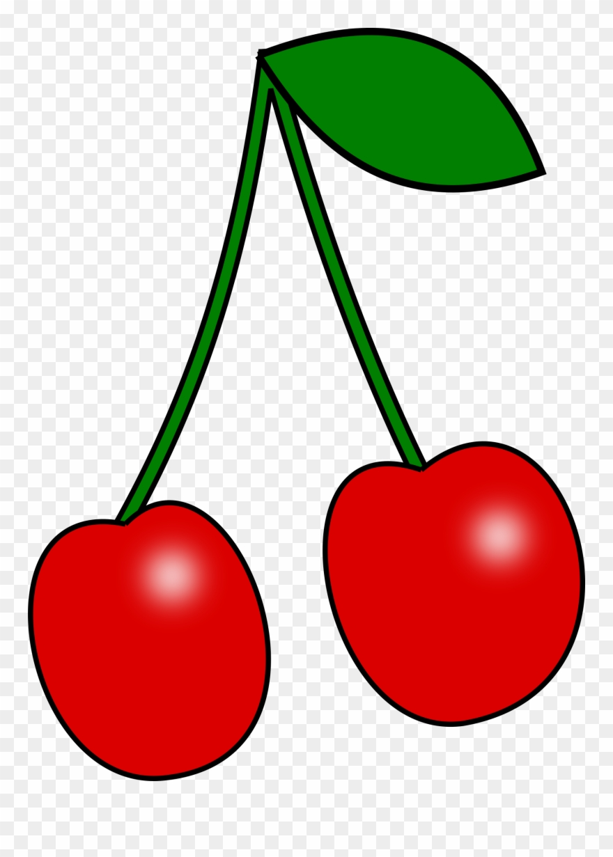 Cherries clipart red cherry. Clip art of png