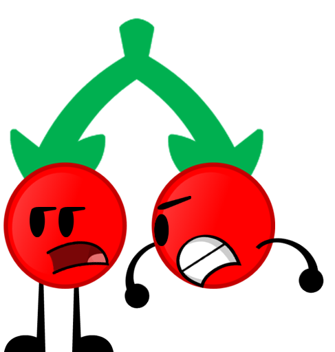 Cherries clipart red object. Inanimate objects wikia fandom