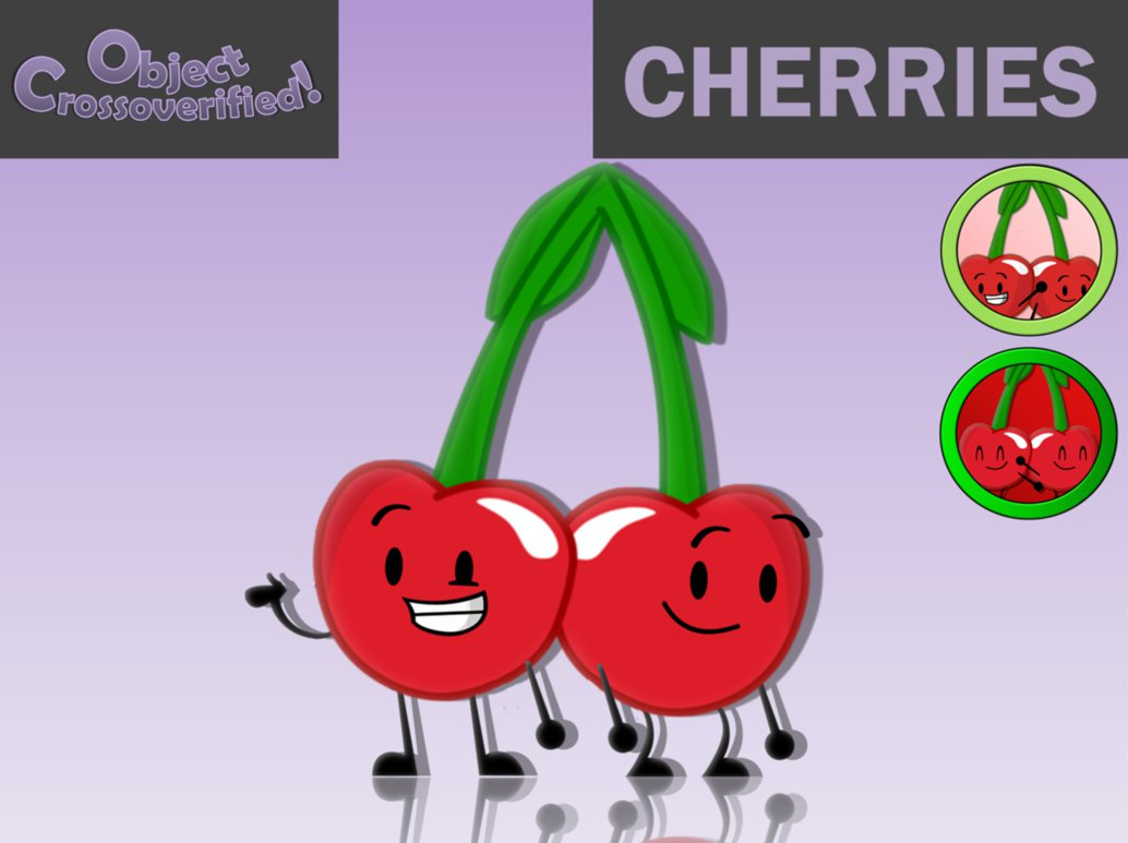 Cherries clipart red object. Crossoverified by planetbucket on