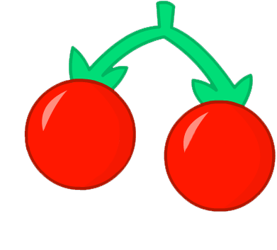 Cherries clipart red object. Image oo idle png