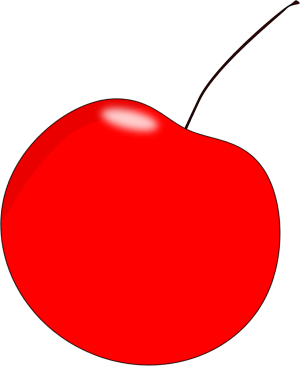 cherry clipart red cherry