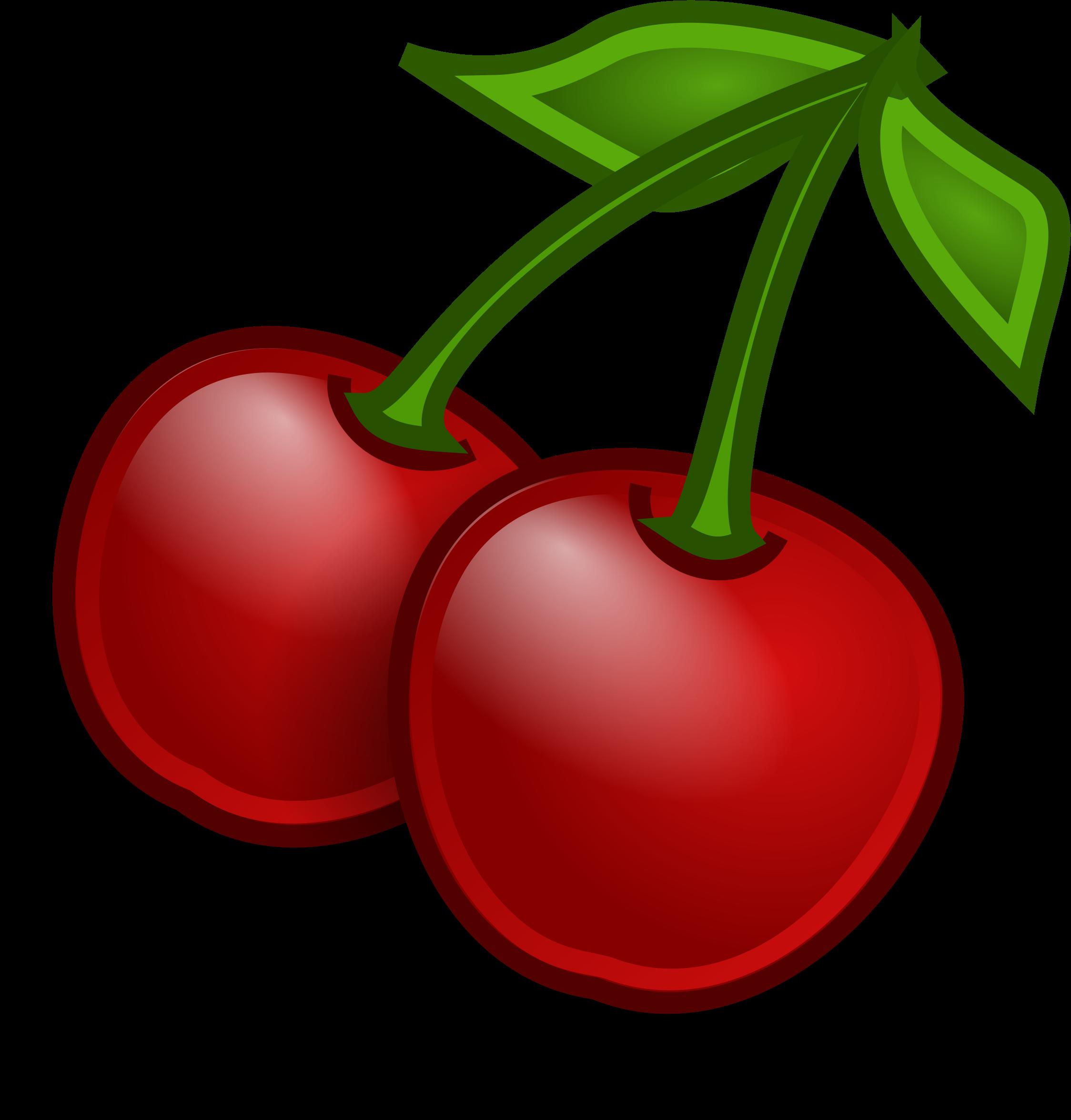 Cherries big image png. I clipart fruit