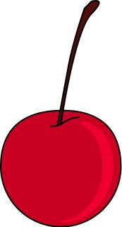 . Cherry clipart stem