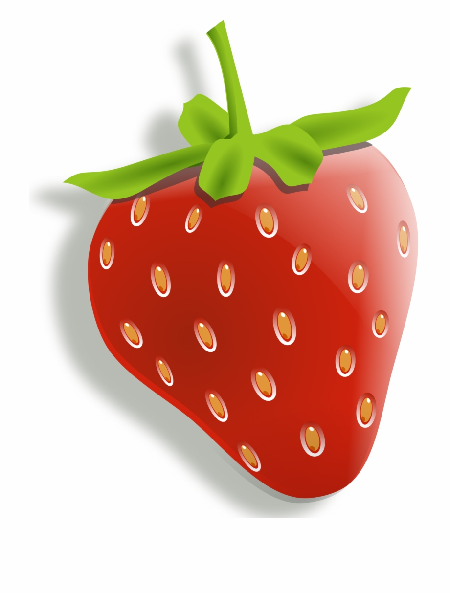 Strawberries lemons cherries . Clipart fruit strawberry