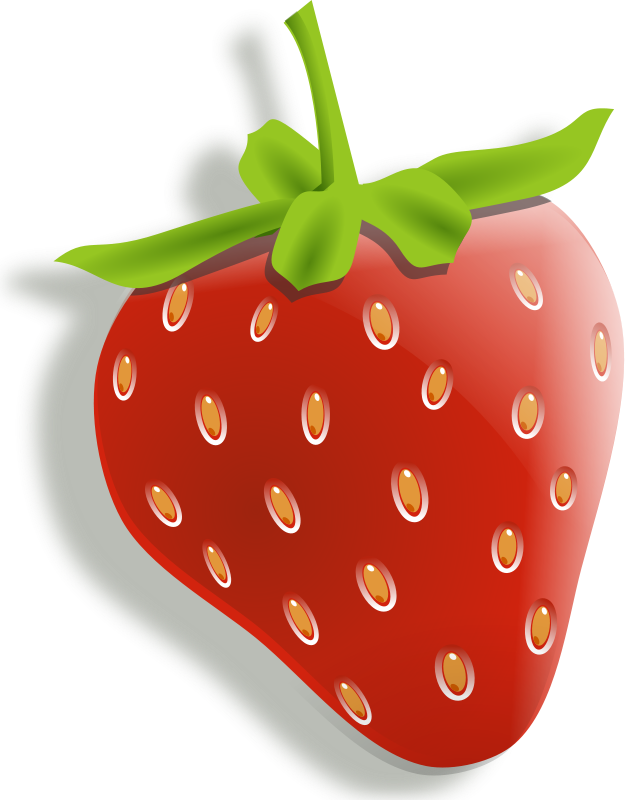 clipart food strawberry