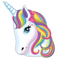 Cherries clipart unicorn. White vector head with
