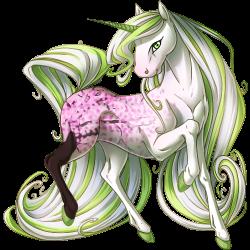 Image blossoms v png. Cherry clipart unicorn