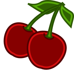 Cherry clipart animated. Cherries clip art at