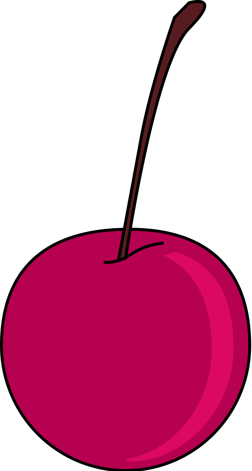 Free stock photo illustration. Cherry clipart bunch cherry