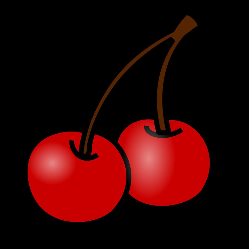 Cherries free stock photo. Cherry clipart bunch cherry