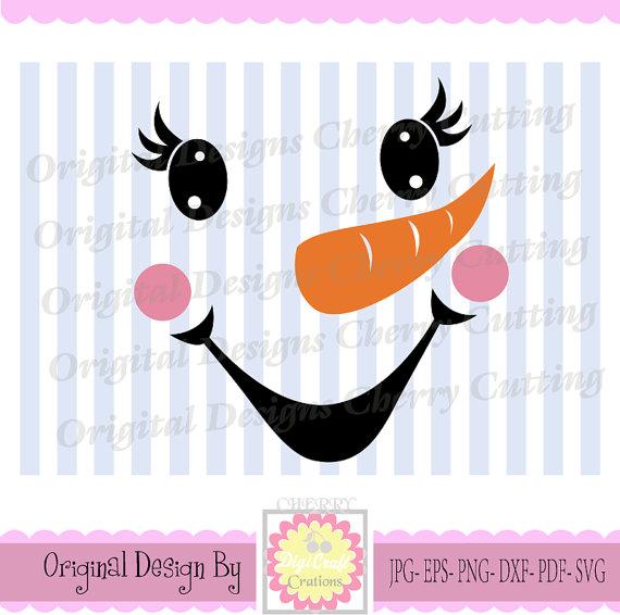Snowman christmas cute svg. Cherry clipart face