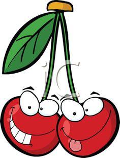 Cherry clipart face. Gifs divertidos emoticones pinterest
