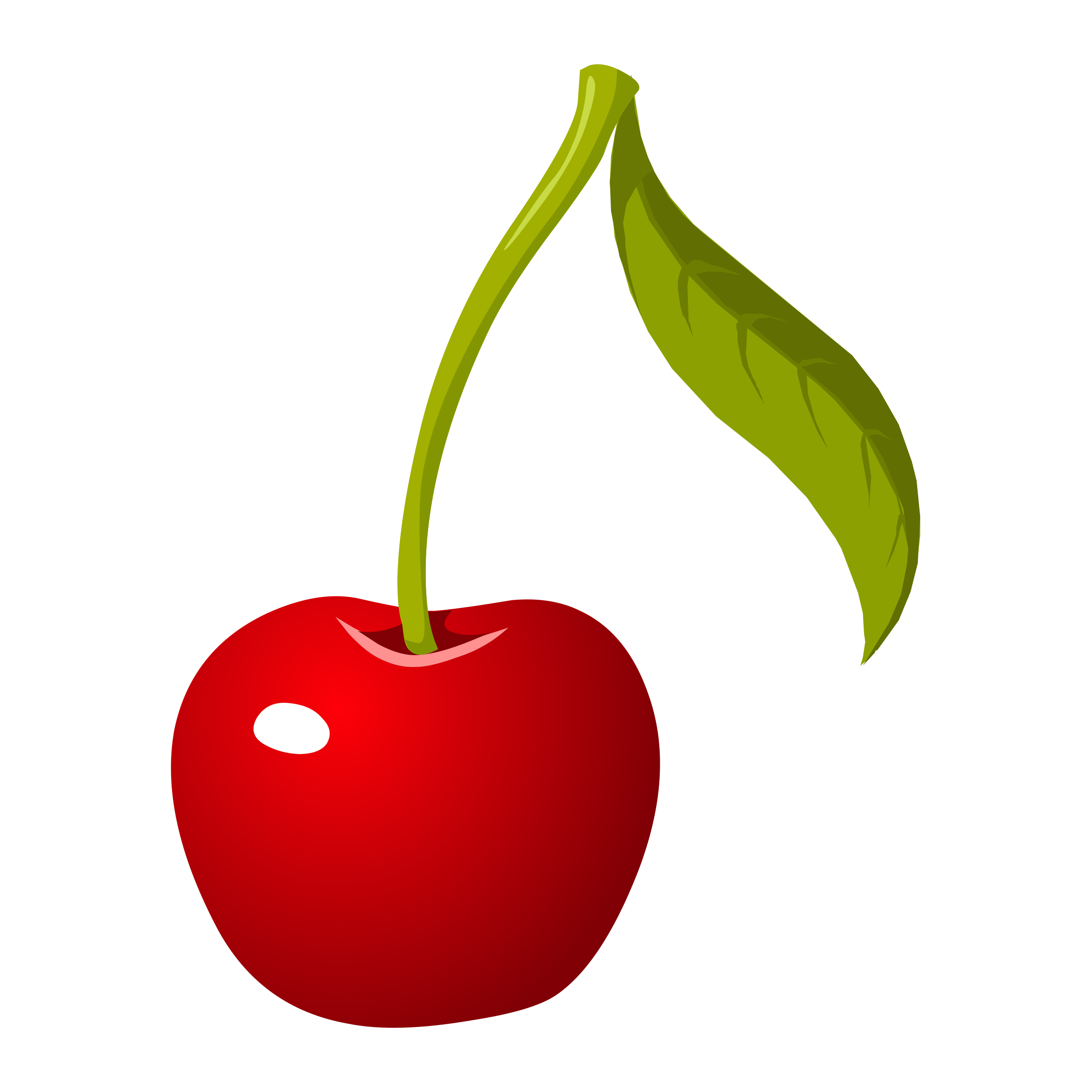 Food cherry icons png. Foods clipart tree
