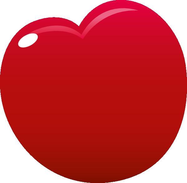 Clip art at clker. Heart clipart cherry