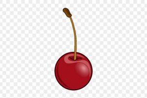 Single portal . Cherry clipart one cherry