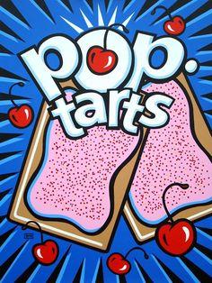 By burton morris artistic. Cherry clipart pop art