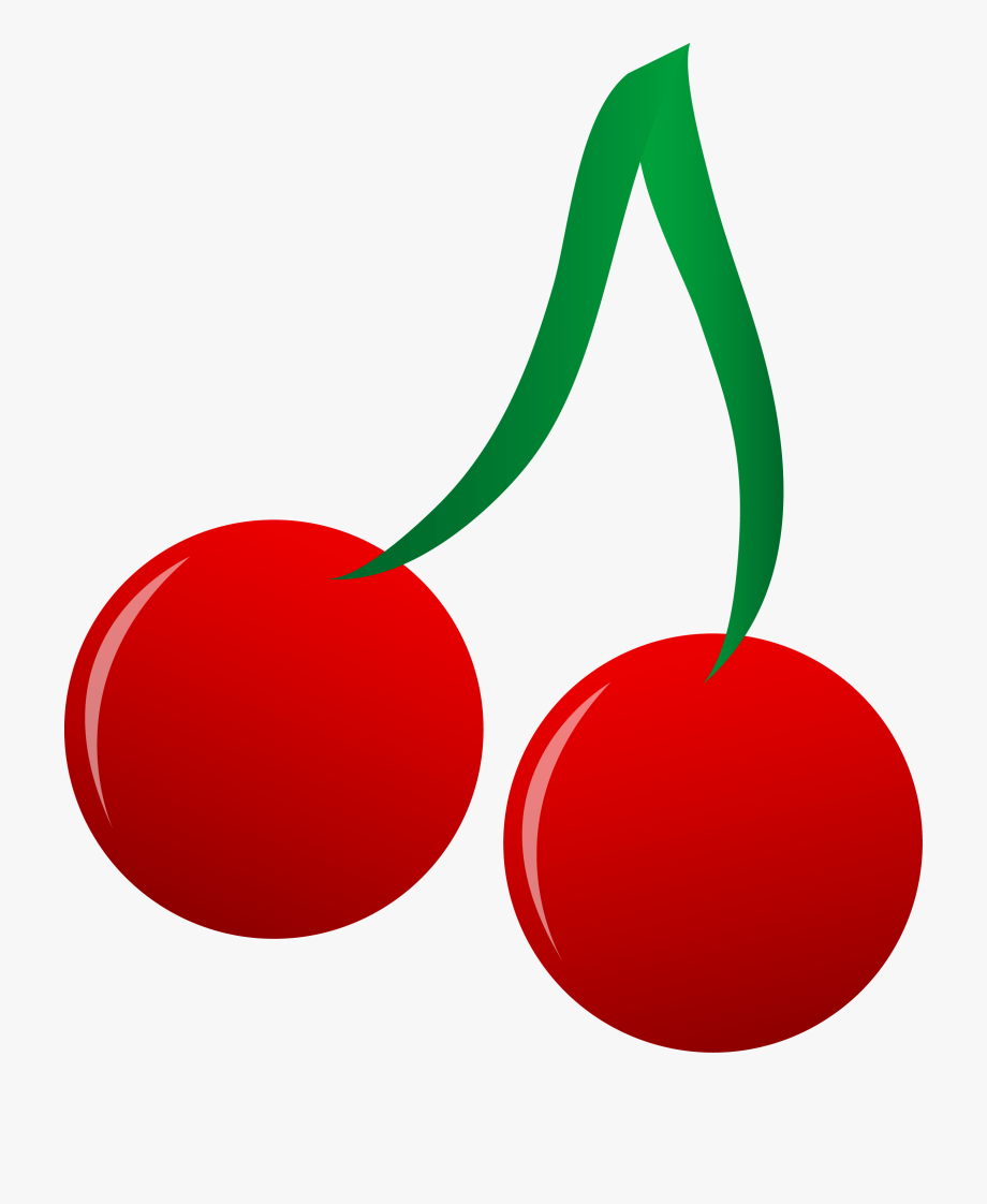 Cherry clipart stem. By connor clip art