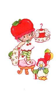 best baby shortcake. Cherry clipart strawberry