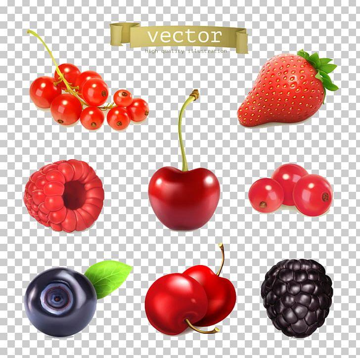 Cherry clipart strawberry. Juice frutti di bosco