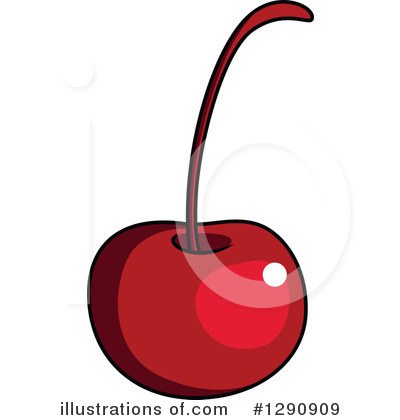 Cherry clipart vector. Illustration by tradition sm