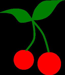 Clip art at clker. Cherry clipart vector