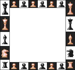 Clip art activities playing. Chess clipart border
