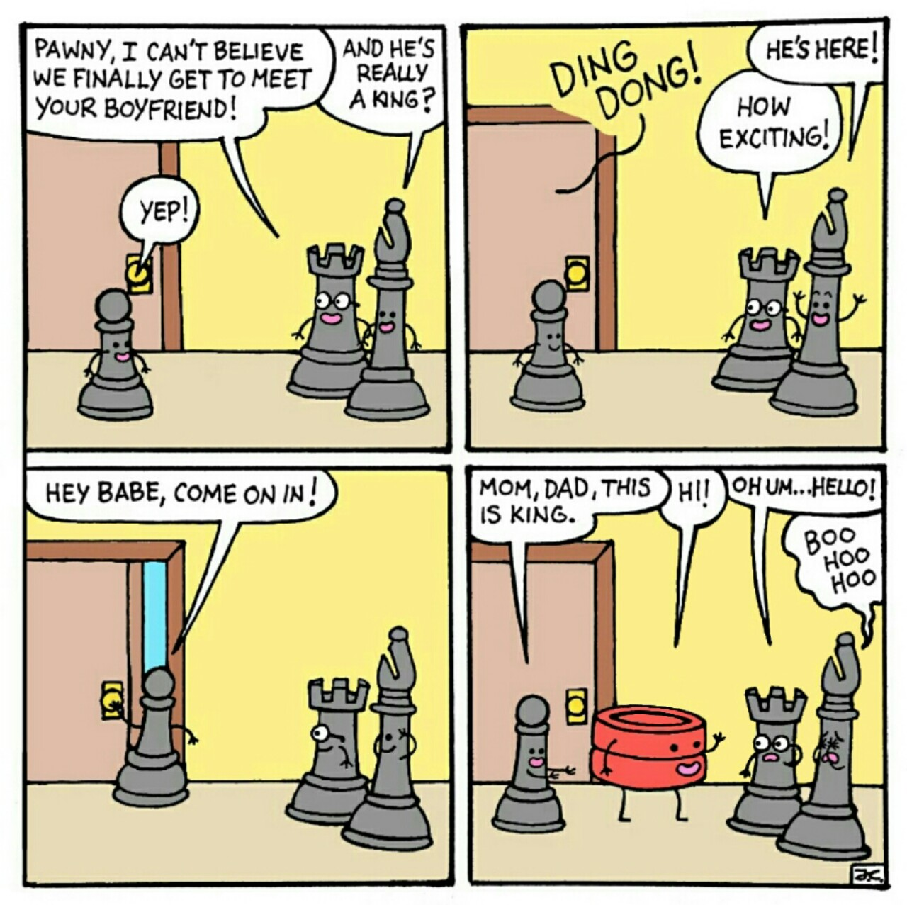 Oc comics . Chess clipart checkmate
