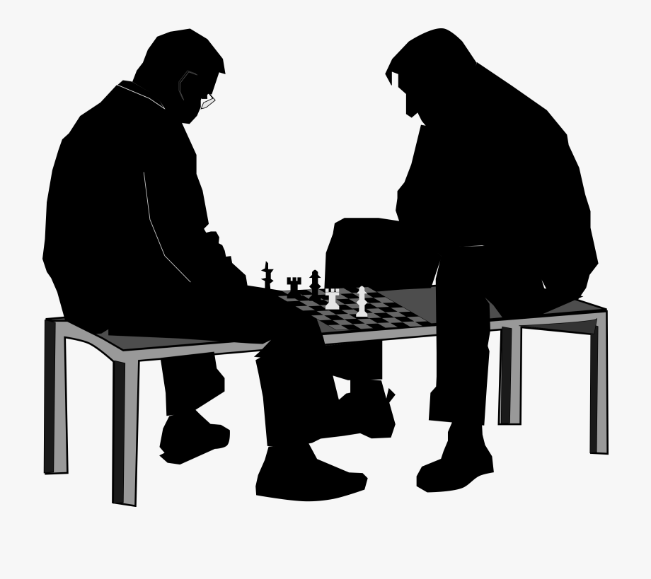 Chess clipart chess player. Match big image png