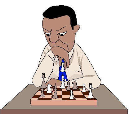 Chess clipart chess player. Clip art activities playing