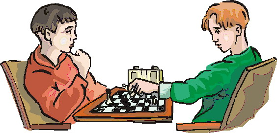 Clip art activities playing. Chess clipart chess player