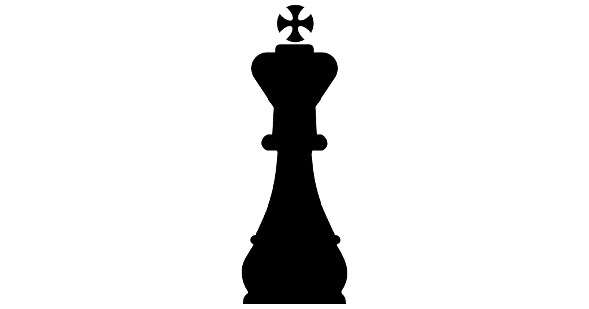 Chess clipart chess team. King piece shape free