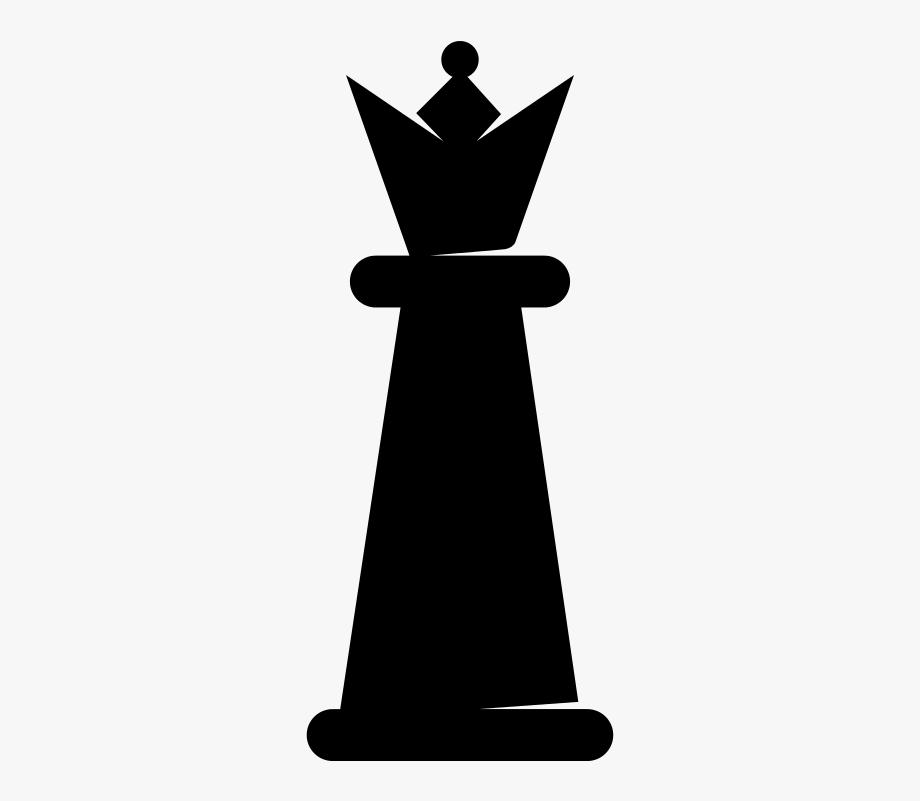 Queen piece . Chess clipart indoor sport
