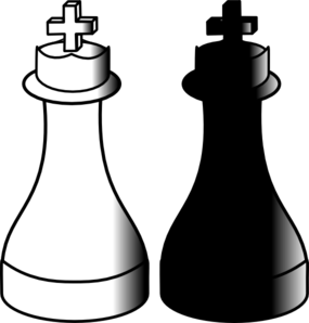 Chess clipart line. Pieces clip art at