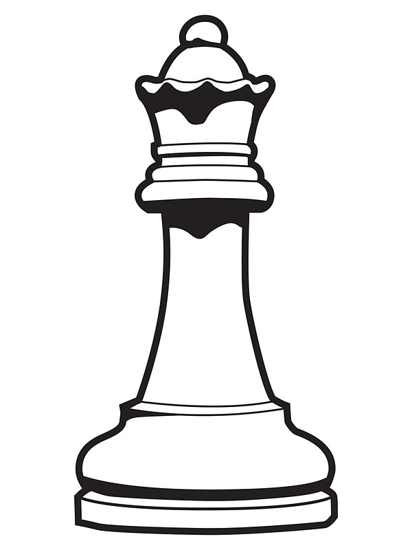 Pieces silhouette at getdrawings. Chess clipart line