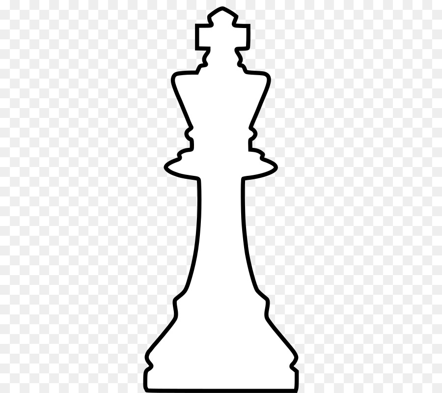 Black background queen king. Chess clipart line
