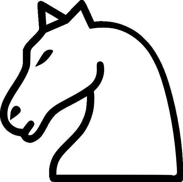Chess piece at clker. Knight clipart horse clip art