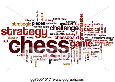 Clip art cloud stock. Chess clipart word