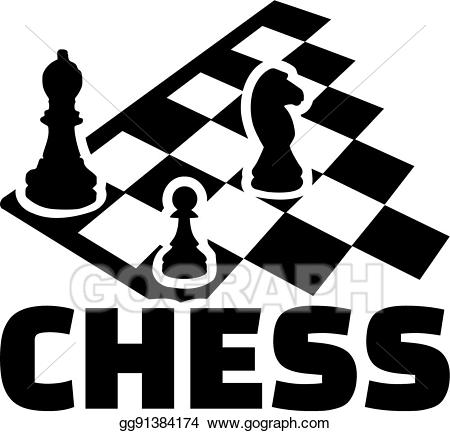Clip art vector board. Chess clipart word