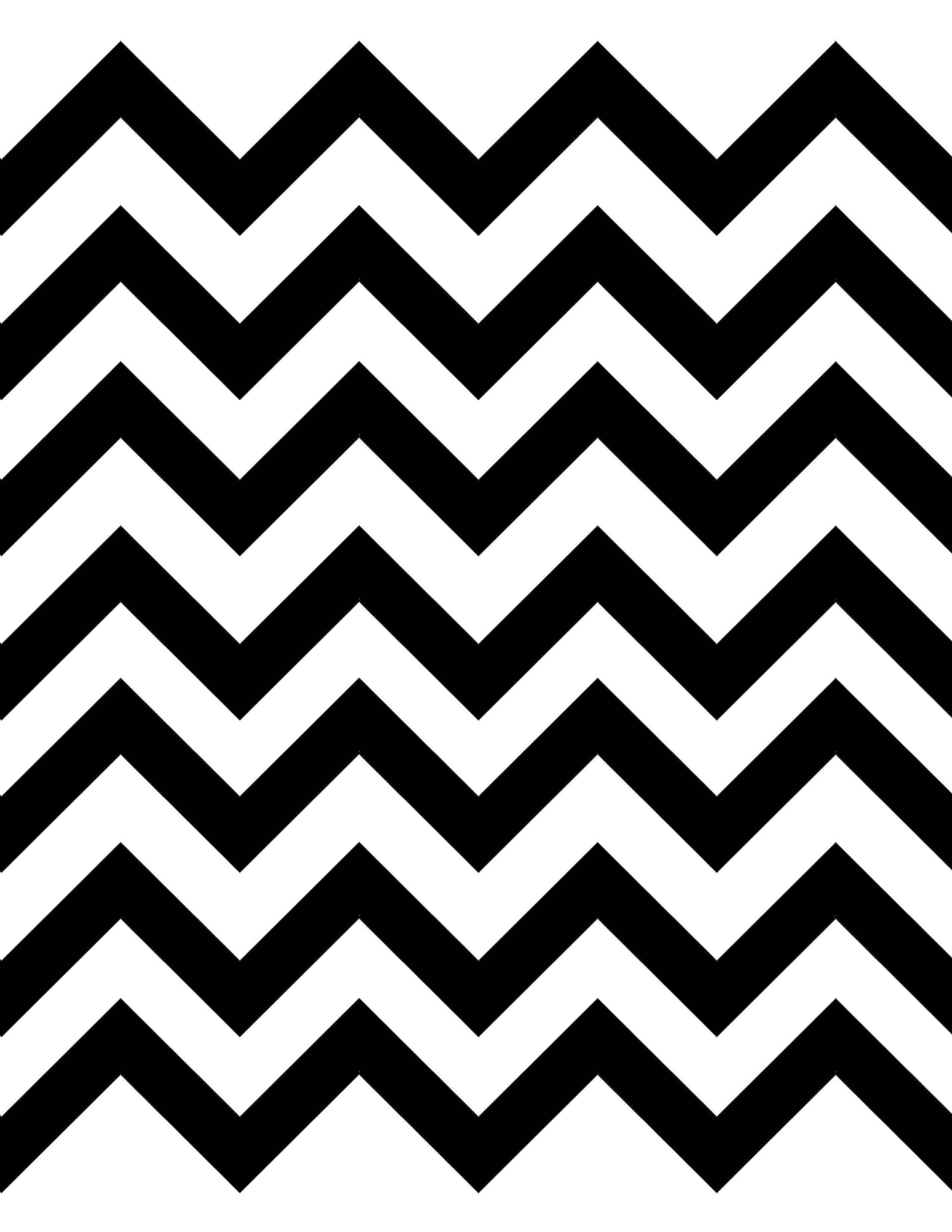 Chevron clipart black and white. Great diy pattern fan