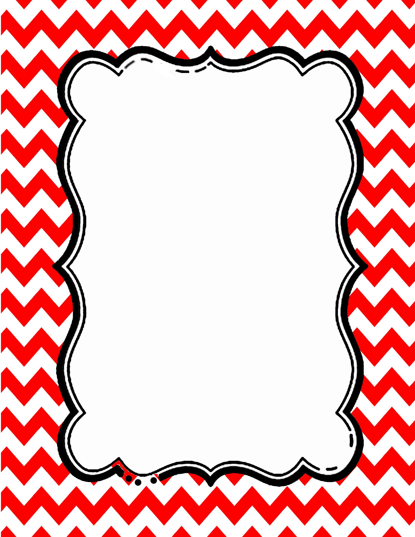 Free download in any. Chevron clipart border
