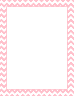 Pink awesome pinterest borders. Chevron clipart border