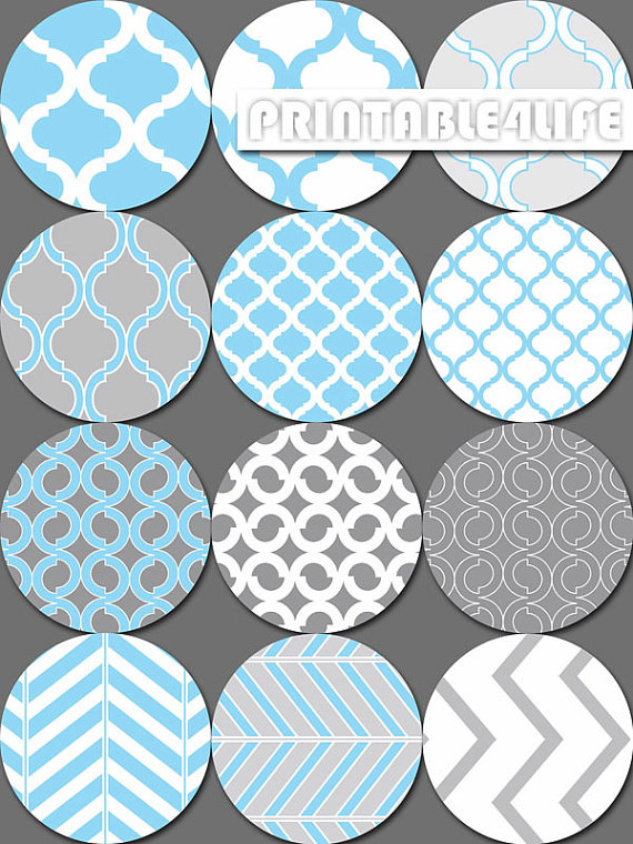 Chevron clipart design. Digital circle in blue