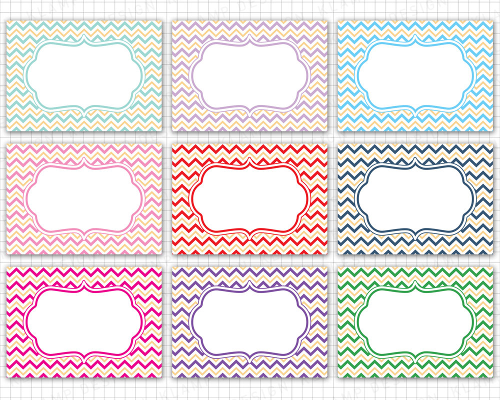 Frame digital frames borders. Chevron clipart design
