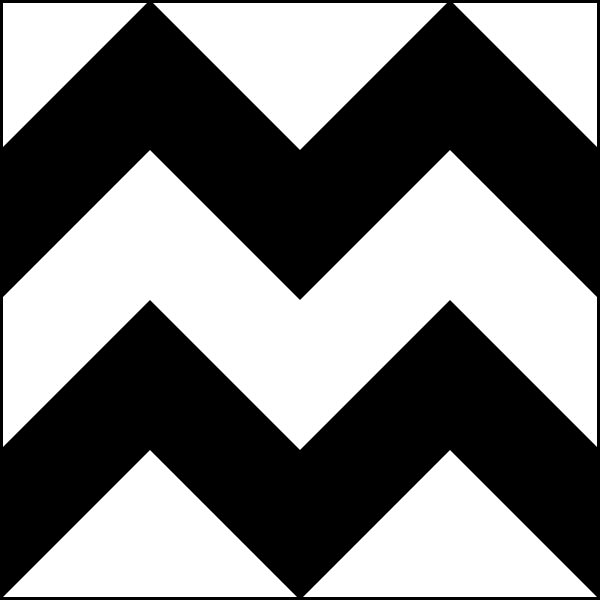 Zigzag patterns tile clip. Chevron clipart design