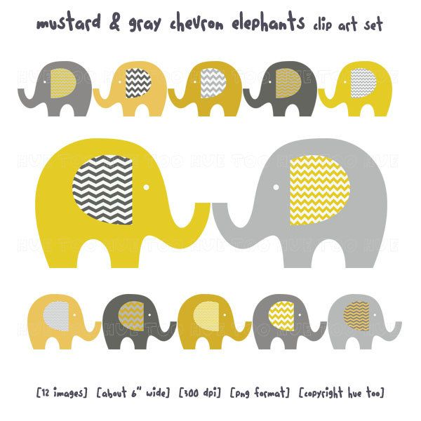 Chevron clipart elephant. Clip art baby mustard
