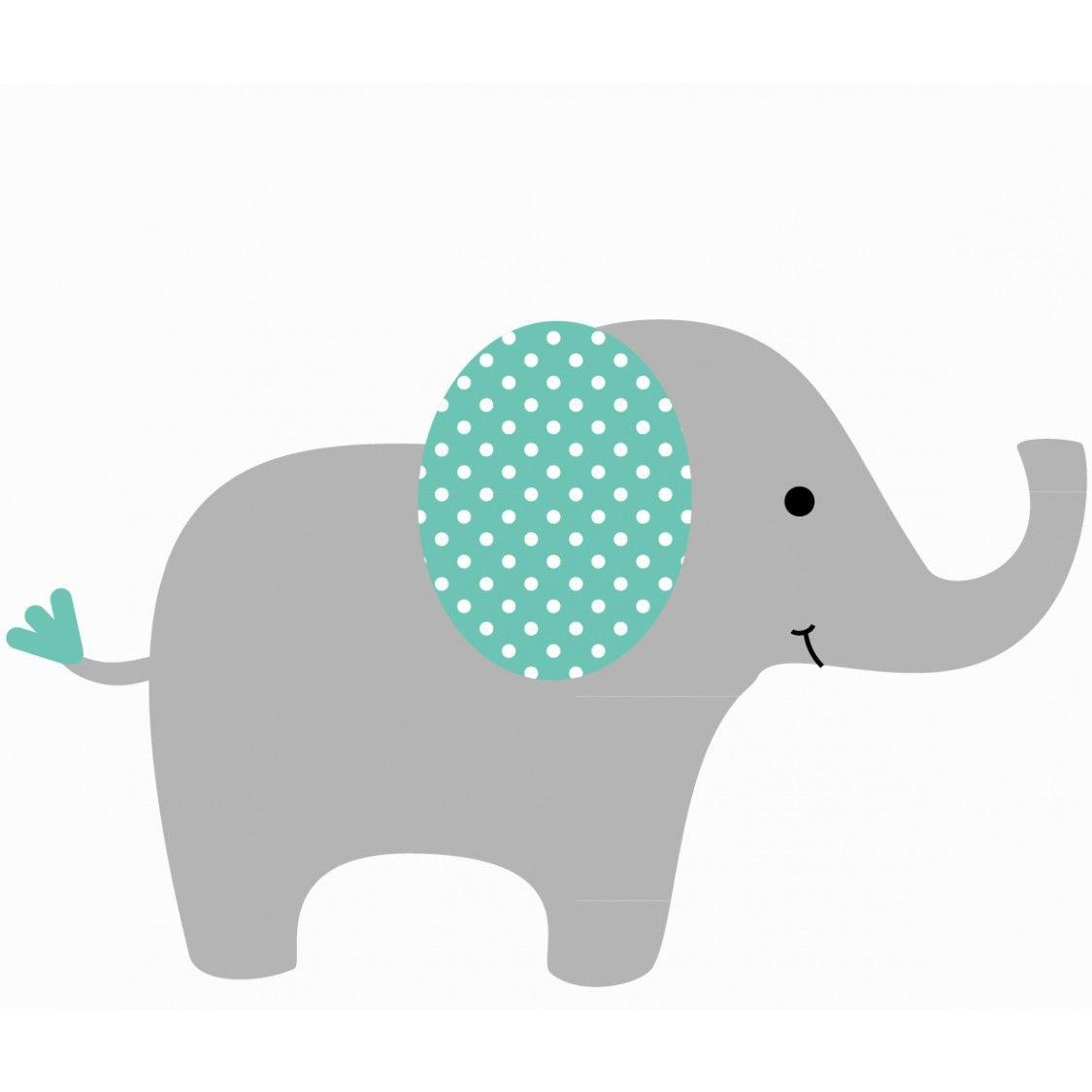 Baby nursery clip art. Chevron clipart elephant